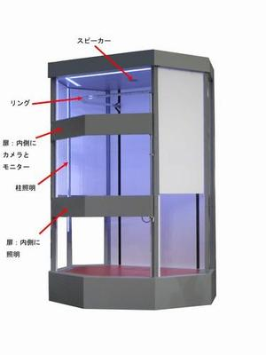 011 ボディスキャナー装置(イベント用)